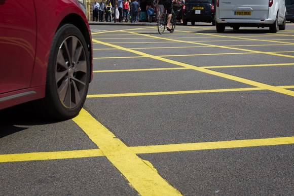 TfL Image - Yellow Box Junction