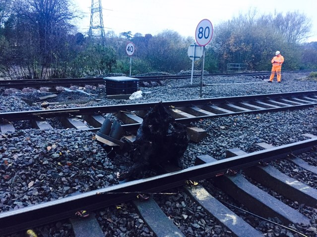 The Orange Army fixes flood-damaged Exeter railway in record time: Cowley Bridge has reopened early