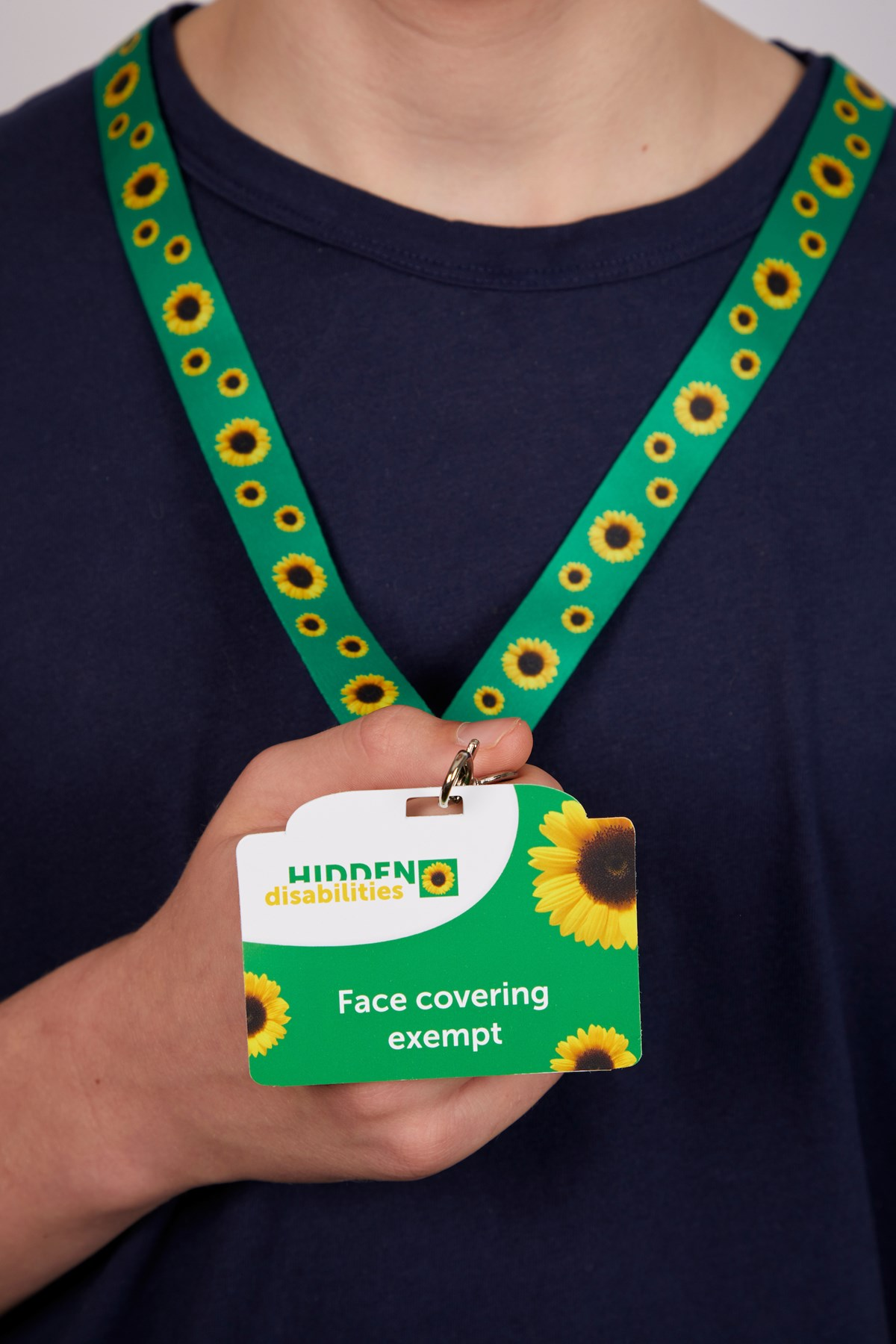 Sunflower Lanyard 1