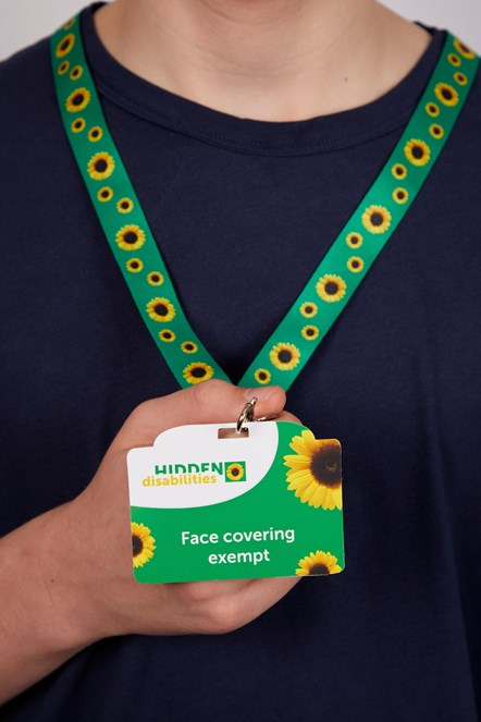 Sunflower Lanyard 1