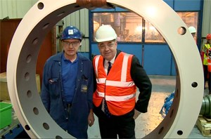 £7.5 million investment delivers jobs boost for Ayrshire: Scotland's First Minister Alex Salmond today, 25 March 2014, announced the creation of 67 highly skilled new jobs at oil and gas service company, Howco Group plc, in its Ayrshire engineering division following a £7.5million investment.