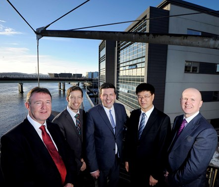Chinese offshore marine engineering group launches first UK subsidiary company in Dundee to support growing offshore decommissioning and renewables sectors: China Ocean Engineering Shanghai Co Dundee 1
