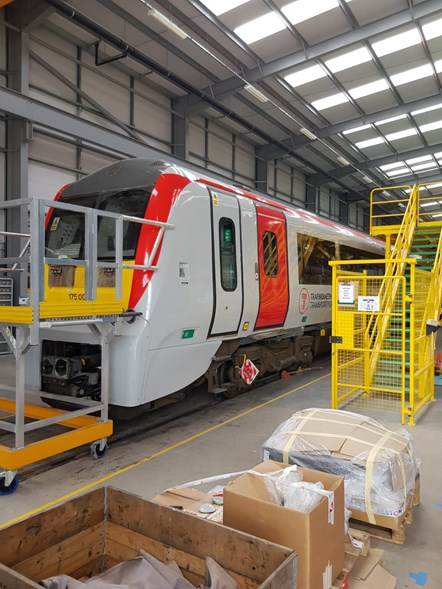 Class 175 unit under refurbishment