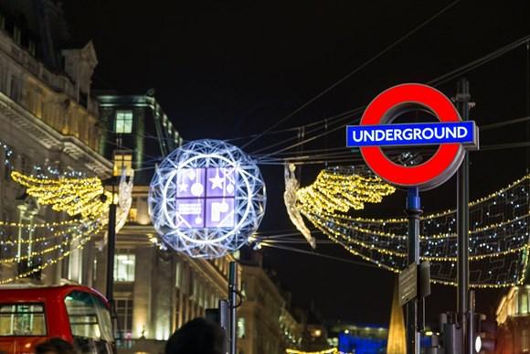 TfL Press Release - Unwrap London this festive season using public transport: TfL Image - Christmas