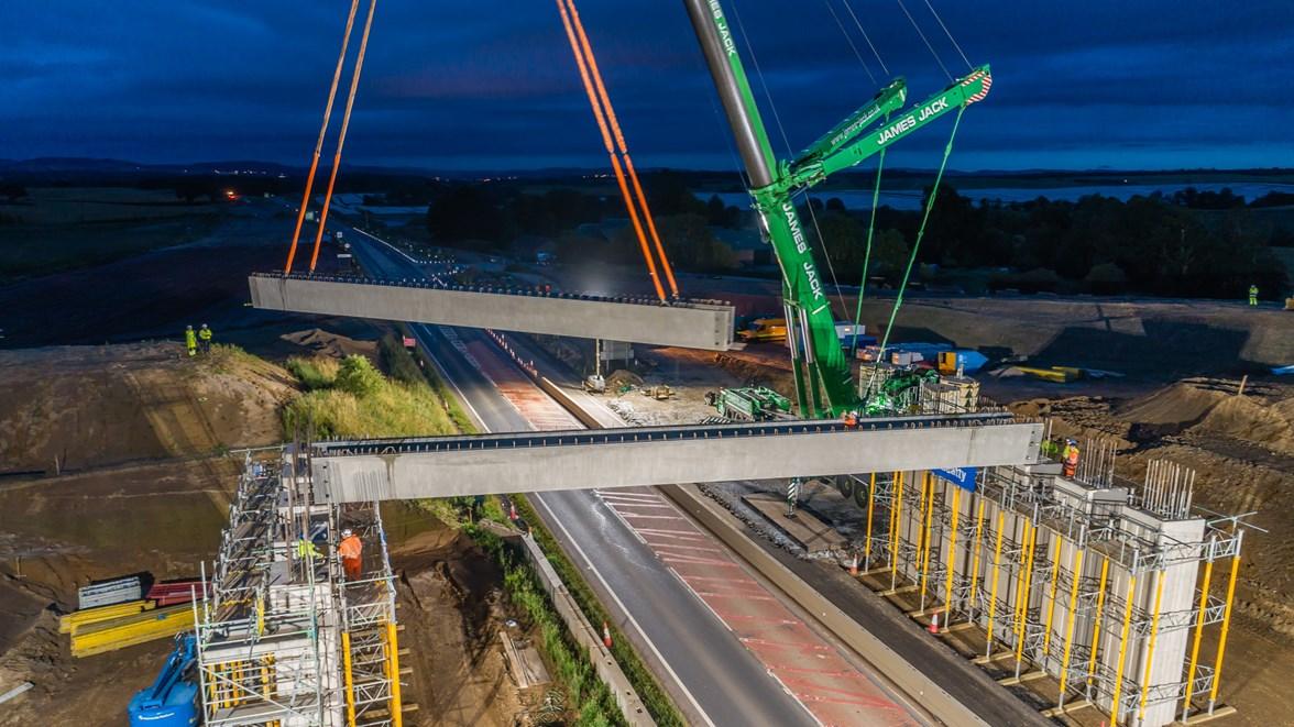 A9 - Tullybelton beam lift