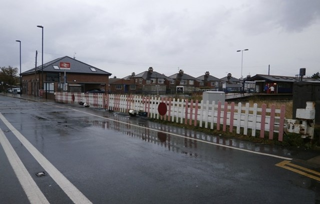 Novel level crossing to be installed at West Dyke Road: The existing barriers at West Dyke Road level crossing