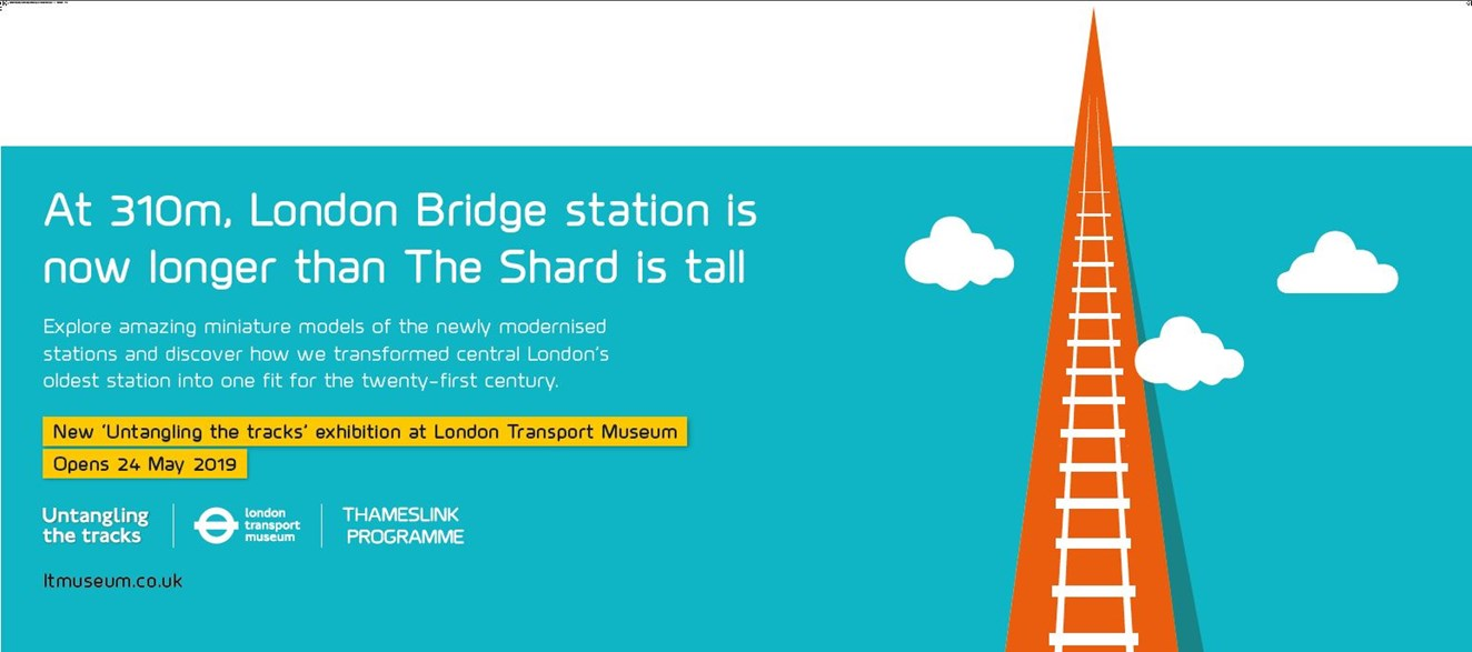 New exhibition shows how the Thameslink Programme untangled the tracks: Untangling the tracks 1