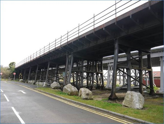 Residents invited to find out about Barry Island viaduct improvement work: Network Rail will be refurbishing Barry Island viaduct