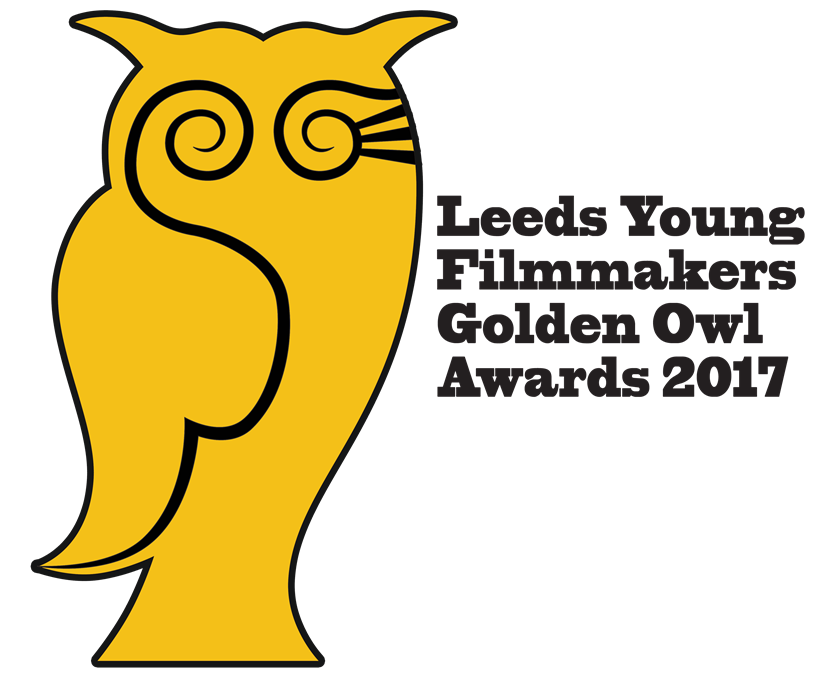 Actor Dean Smith to host sixth Leeds Young Filmmakers : goldenowlslogowithtext2017.png