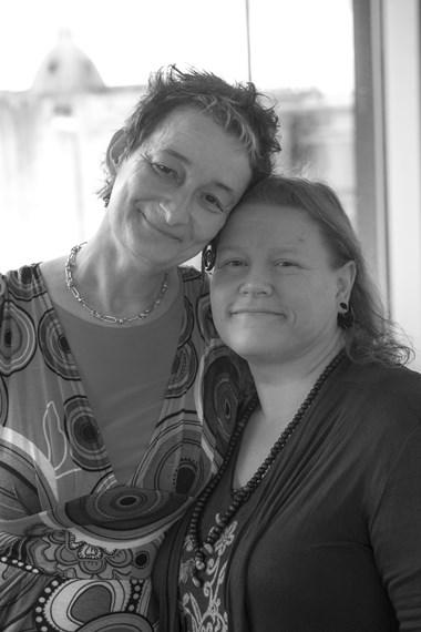 Couple praise paramedics: Fiona and Joanne