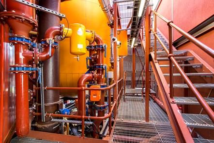 Bunhill 2 Energy Centre - Internal 6: An interior shot of the Bunhill 2 Energy Centre on the edge of City Road, Islington