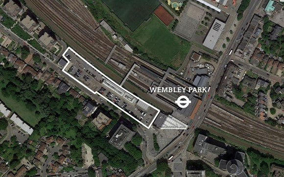 TfL Image - Wembley Park Station - Aerial View
