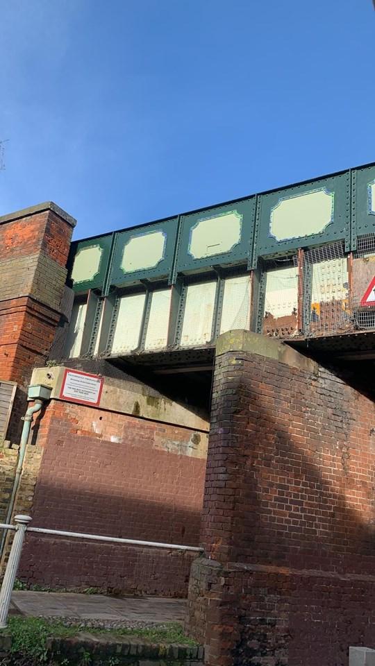Wincheap Bridge Graffiti Removal (3)