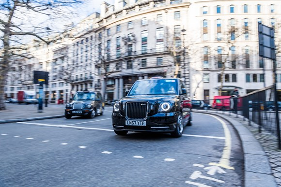 TfL Press Release - Cabbies take up £30m of new green grants to help switch to cleaner vehicles: TfL Image - ZEC Taxi 02