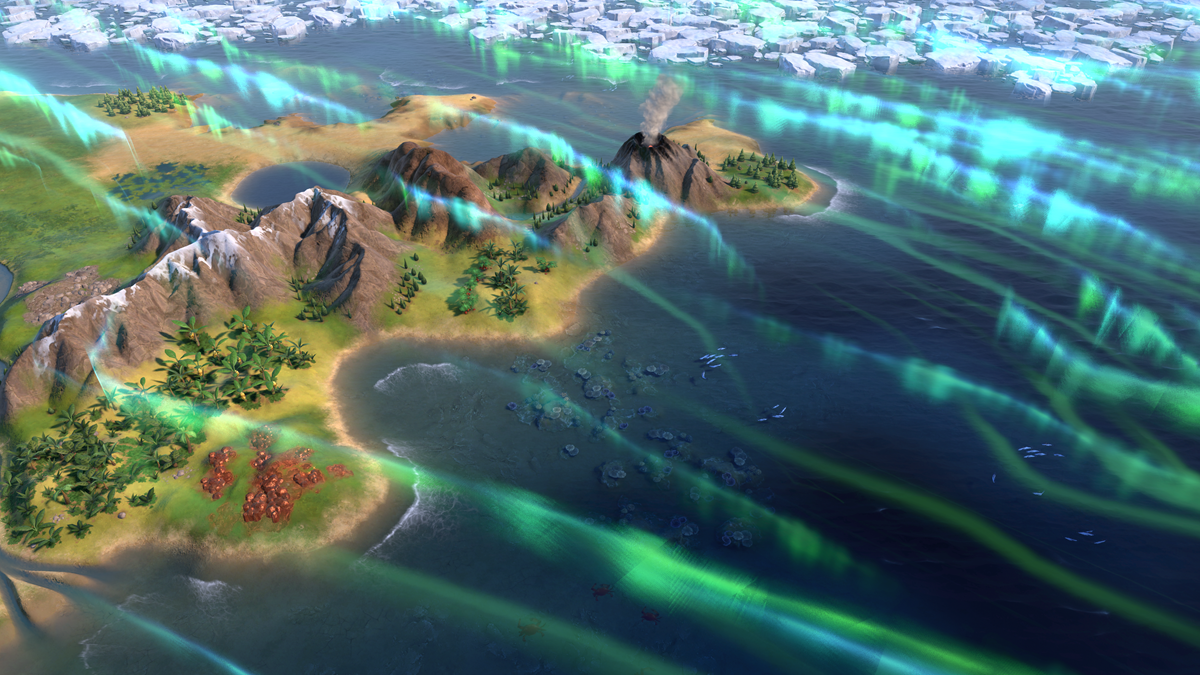 Civilization VI - New Frontier Pass - Maya & Gran Colombia Pack - Apocalypse Mode Solar Flare