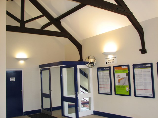 Guide Bridge station: Newly refurbished ticket office