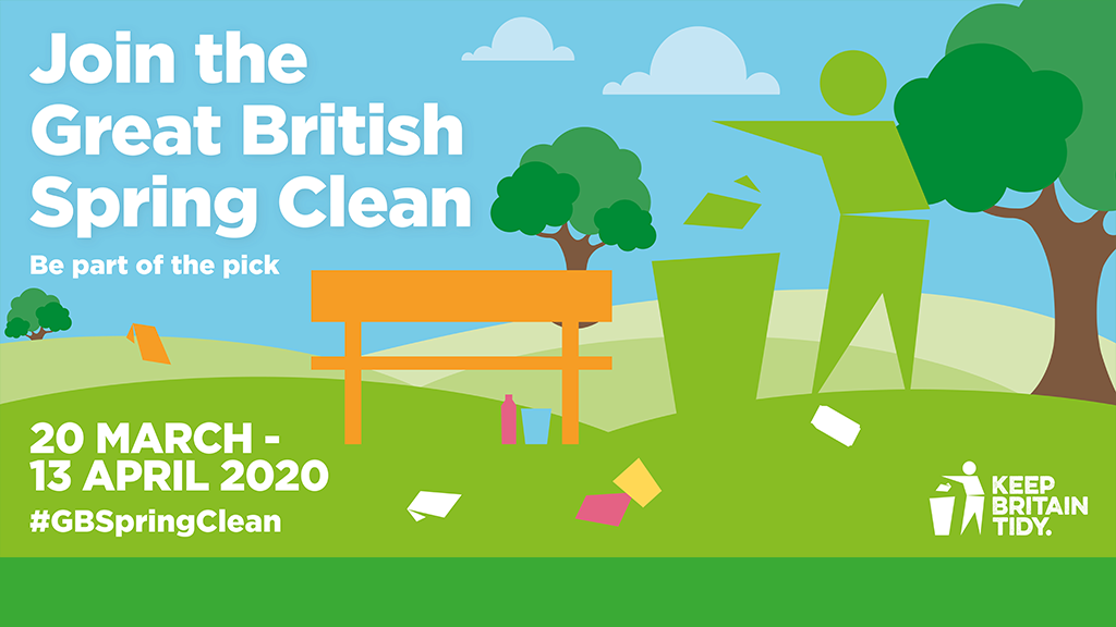 Great British Spring Clean campaign image