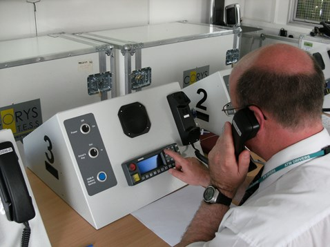 ERTMS enables continuous communication between signallers and drivers via robust radio frequency