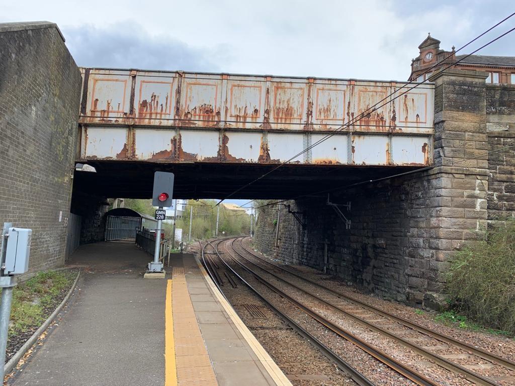 Hamilton town centre road diversions for rail bridge works: Hamilton Quarry St