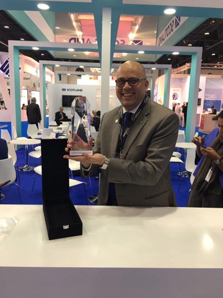 Scotland wins Best International Pavilion at ADIPEC 2016