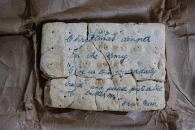 Object of the week- 100 year-old wartime biscuit: 1914-trench-biscuit2-222134.jpg