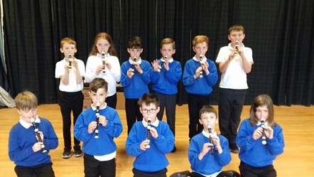 Every P5 pupil in Moray benefiting from music tuition: Primary 5 pupils from Hythehill in Lossiemouth have had three recorder lessons so far this school year, thanks to funding from Creative Scotland's Youth Music Initiative