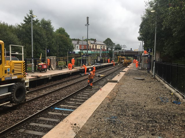 Moses Gate station work