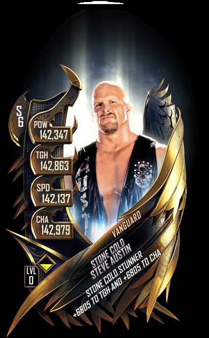 WWESC S6 Stone Cold Steve Austin Vanguard