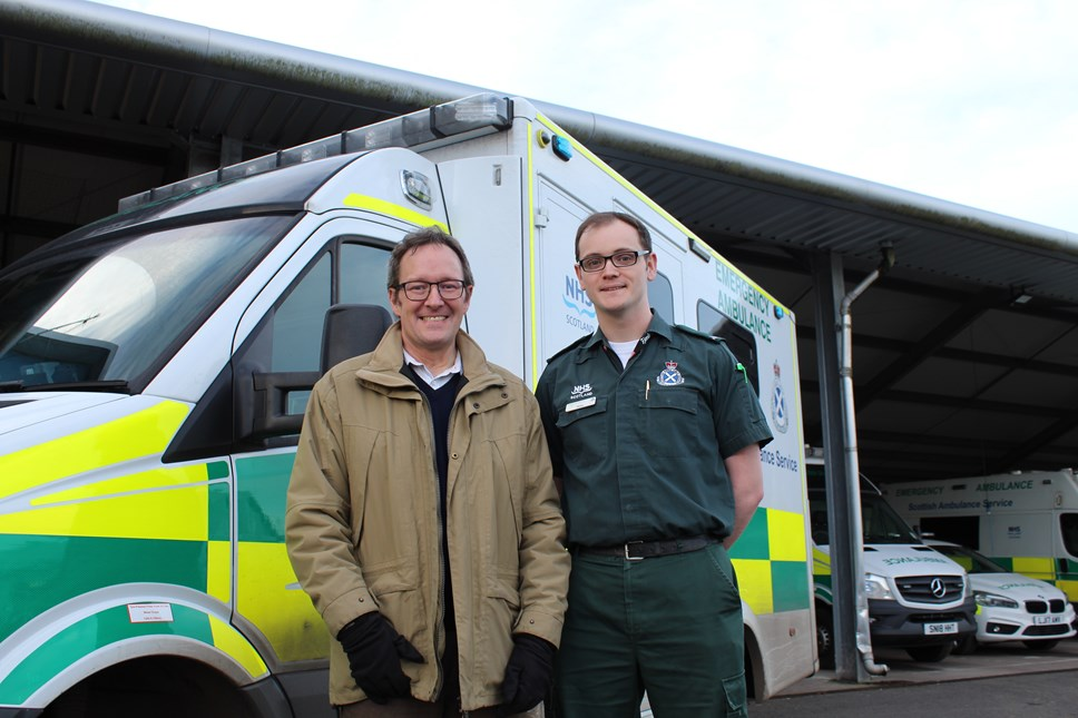 Man thanks SAS for saving his life after cardiac arrest at train station: Donald Scott