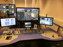 Simulator - Southeastern's Orpington base: Simulator - Southeastern's Orpington base