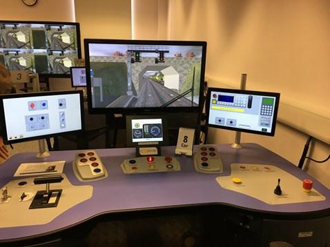 Simulator - Southeastern's Orpington base
