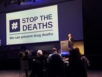 Joe FitzPatrick at Scottish Drug Deaths Conference