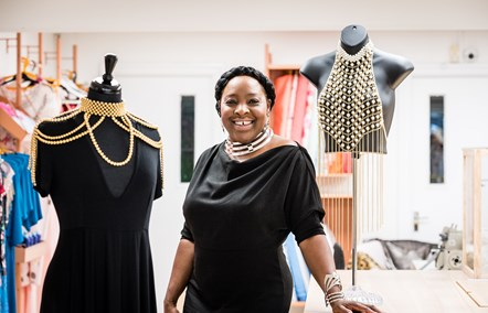 Designer-maker Tricia Blake of Diva Choice at FC Designer Collective
