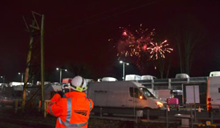 Work continues through NYE celebrations at Shenfield (CrossRail)