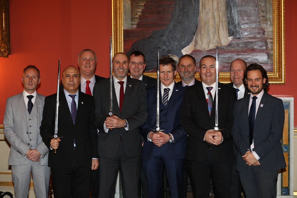 Network Rail awarded four prestigious health and safety management awards: Sword of Honour - Network Rail