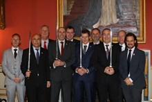 Sword of Honour - Network Rail: Representatives from the four IP Track teams  that were awarded the British Safety Council Sword of Honour