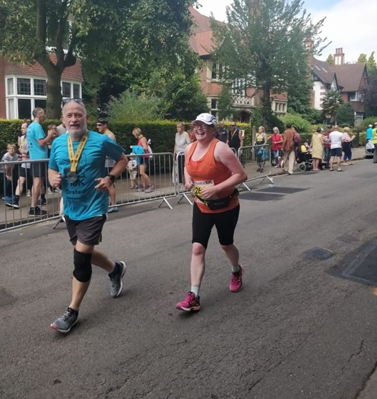 Grimsby woman outruns her fears thanks to Ørsted Great Grimsby 10k: 10K couple