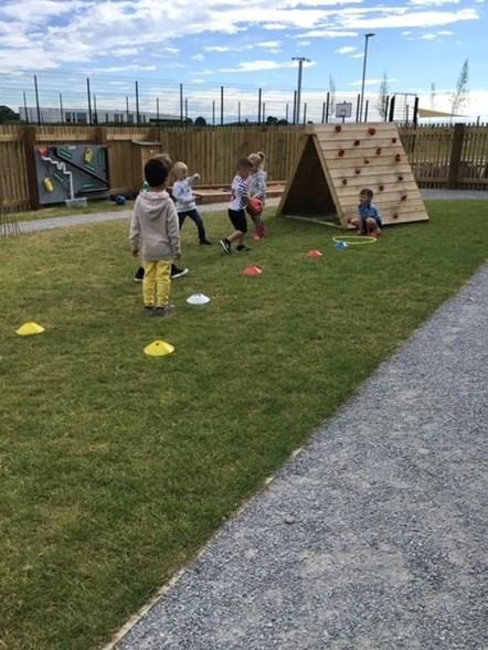 Linkwood Nursery's outdoor activities