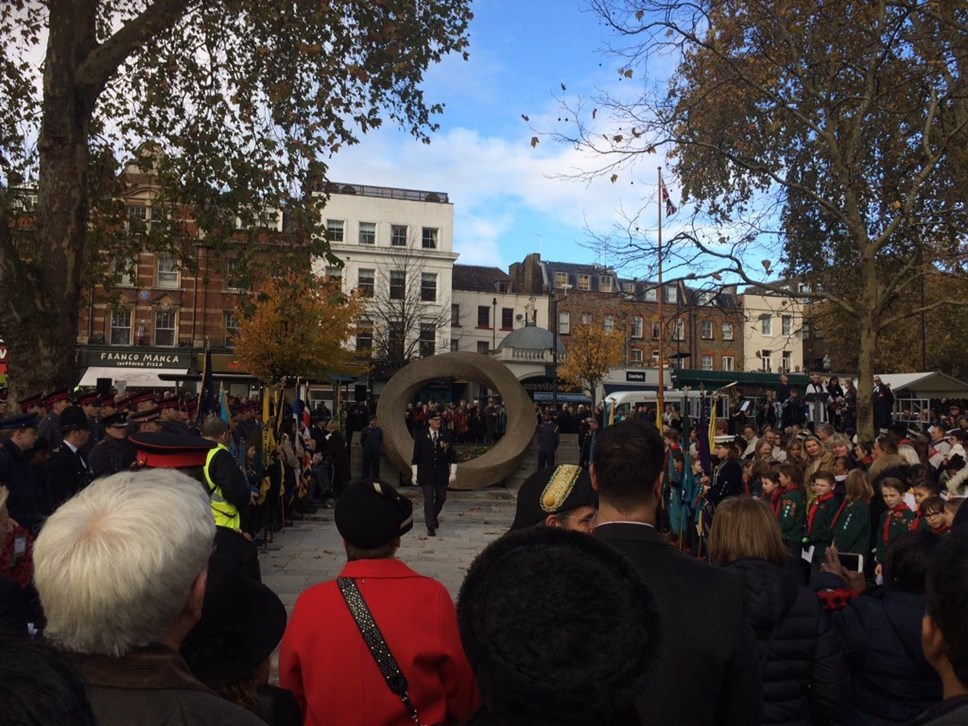 Islington marks Remembrance Day: Remembrance Sunday 2018