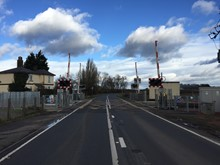 Chettisham level crossing 2