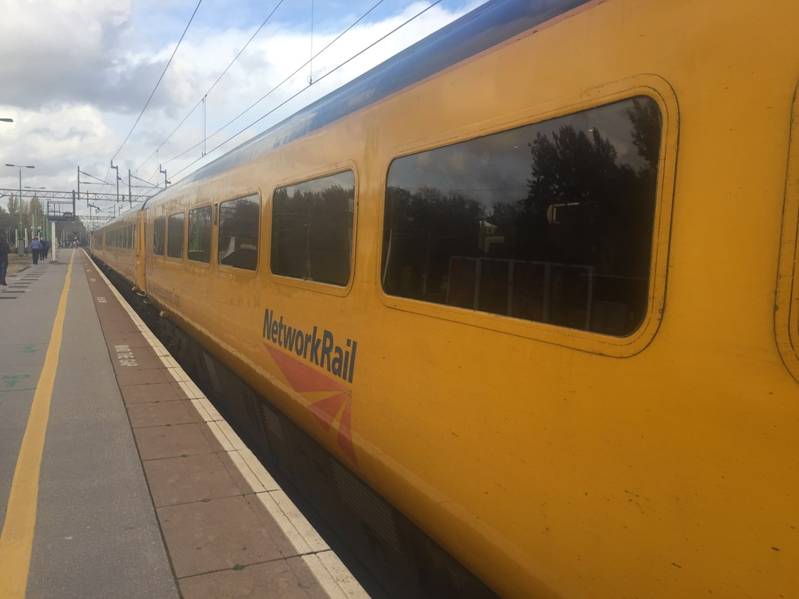 Cutting edge technology helping Network Rail to almost double track maintenance capacity: New Measurement Train