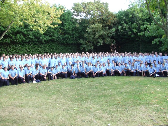 The 2009 intake of Network Rail apprentices