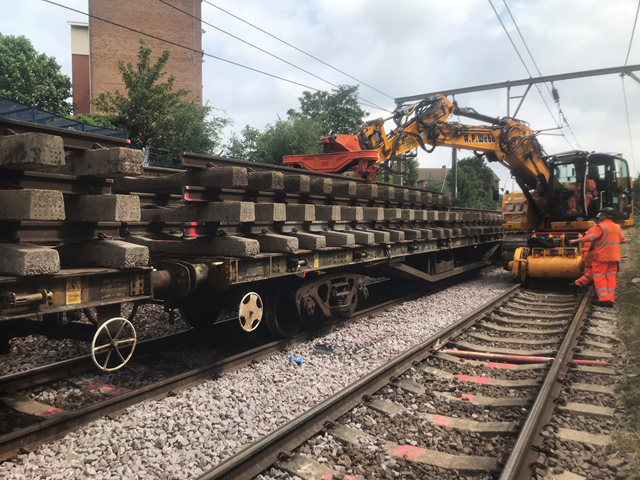 Majority of Anglia's rail network open for business as usual over August Bank Holiday as railway continues to welcome back passengers: c2c line track renewals