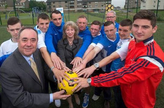 Street Soccer Scotland: For use of this photo, please contact Jeff Holmes - jeff@jshpix.co   Tel: 07802 610085   Website: www.jshpix.co   Twitter: @jeffholmes24