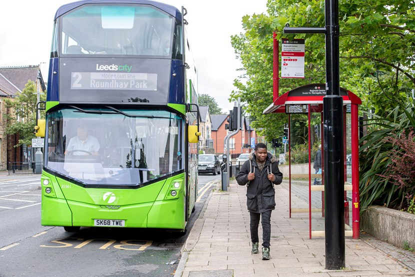 Majority of public support ambitious transport vision for 'Leeds a city where you don't need a car': Transport strategy bus