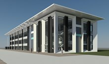 Goole building external CGI