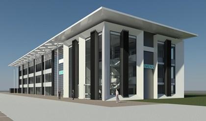 Plans revealed for rail industry innovation centre: Goole building external CGI