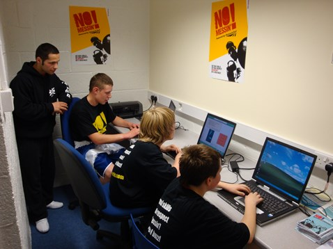 New education suite, Corby boxing gym