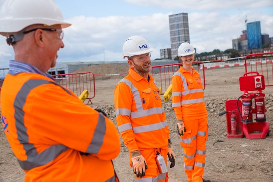 BBVS Old Oak Common HS2 site June 2020: BBVS, BBVSJV, Balfour Beatty, Balfourbeatty, Vinci, Taylor Woodrow, TaylorWoodrow, Systra, OldOakCommon, Old Oak Common, Old Oak Common Station, Station, Handover, Site, Sitewalk, Sitevisit, PPE