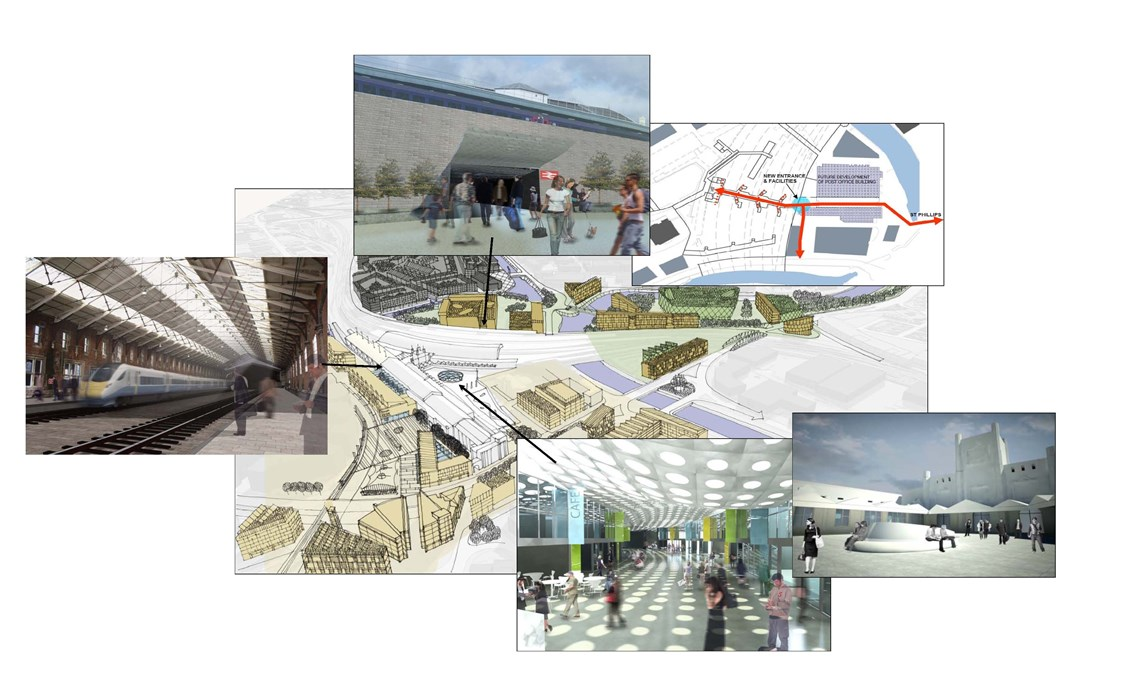 Overview of proposed plan to redevelop Bristol Temple Meads: Proposal to redevelop Bristol Temple Meads